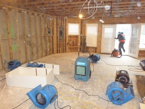 water damage property restoration