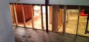 Water Damage and Mold On Wall